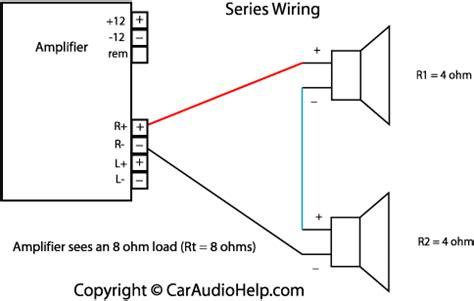 Wiring 8 Ohm Speaker In Series by Ohm S In Car Audio