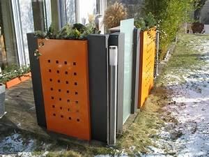 Sichtschutz Für Metallzaun : pflanzkasten modular mit dekorstanzung h x b 100 x 100 cm ~ Sanjose-hotels-ca.com Haus und Dekorationen