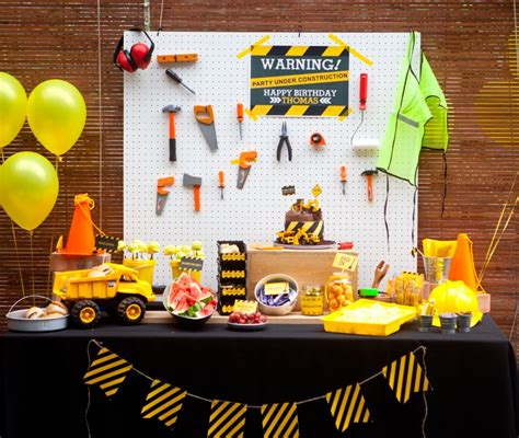 880 best 1st birthday themes boy images on 1st birthday party ideas for boys construction party birthday party ideas and construction