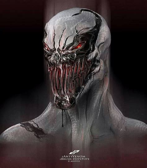 #anti #venom #fan #art (anti Venom) By Dp (the * 5