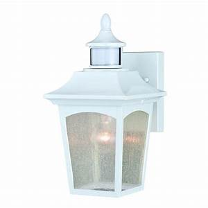 Menards Ceiling Fans With Lights Patriot Lighting Dualux Eloise Ii White Motion Sensor