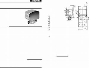 Honeywell Thermostat V8043 User Guide