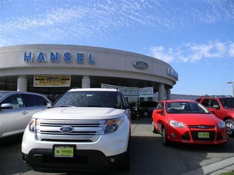 Hansel Auto Santa Rosa by Hansel Ford Hansel Auto Office Photo