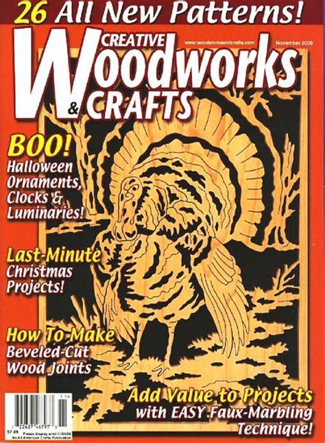 creative woodworks crafts november