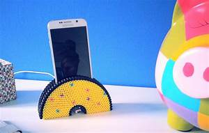 Support De Telephone : diy support de t l phone portable avec perles repasser ~ Melissatoandfro.com Idées de Décoration