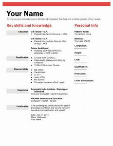 biodata what it is 7 biodata resume templates With how to make biodata