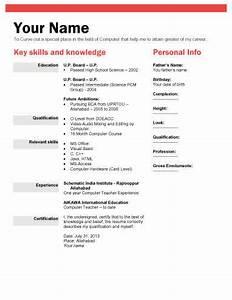 biodata what it is 7 biodata resume templates With biodata format