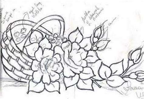 Artes da Nil Riscos e Rabiscos: Cestas com rosas