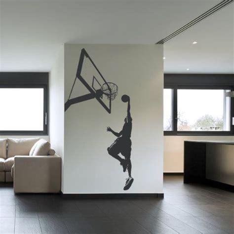 sticker chambre gar輟n 15 épingles chambre de basket pour garçons incontournables chambre de style basketball chambre à thème sport pour garçon et stockage
