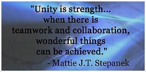 25 Smart Quotes... Strength And Teamwork Quotes