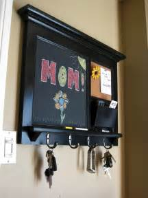 home decor wall mail organizer storage cork board by rozemake