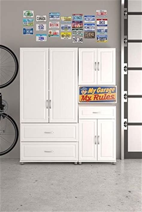 systembuild 24 utility storage cabinet white ameriwood systembuild kendall 24 quot 1 drawer 2 door base