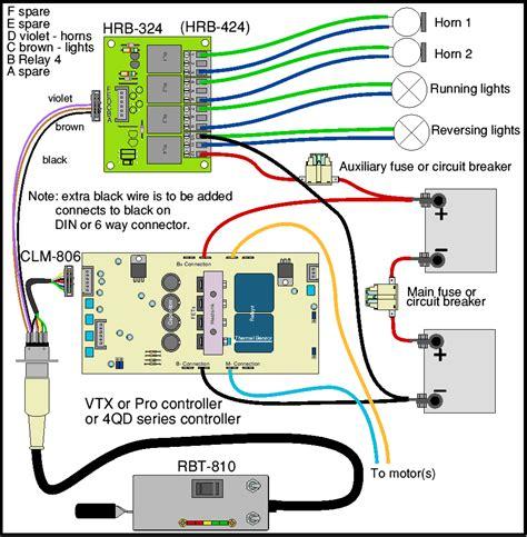 Loco Wiring Hand Control Horn Relay Board