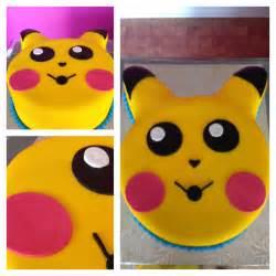 Pikachu Birthday Cake