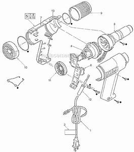 Milwaukee 8975 Parts List And Diagram