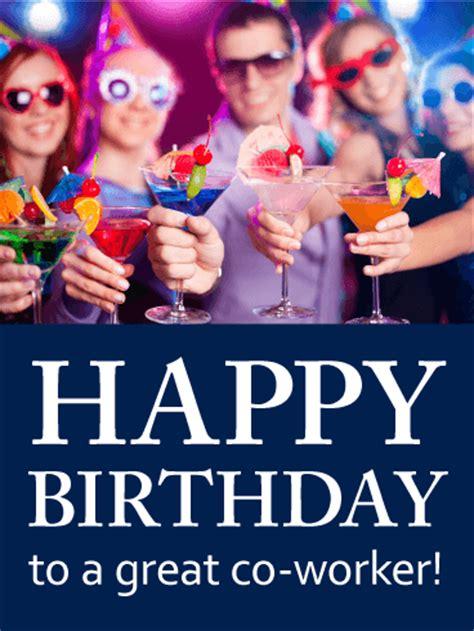 favorite  worker happy birthday card birthday
