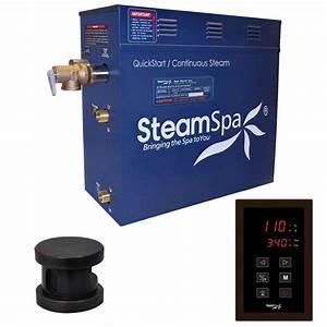 Steamspa Oasis 6kw Quickstart Steam Bath Generator Package