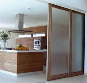 sliding kitchen doors interior sliding doors as room dividers more privacy in the small apartment interior design ideas