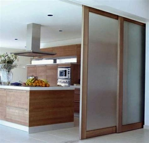 sliding kitchen doors interior sliding doors as room dividers more privacy in the small