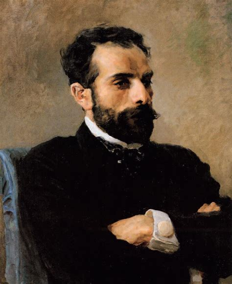 Vasily Polenov's portrait of Isaak Levitan   Portrait ...