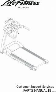 Life Fitness F3 Treadmill Manual