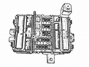 1995 Honda Civic Under Dash Fuse Box Diagram