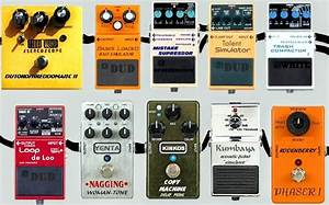 The 25 Best Effects Pedals For Electronic Music Production