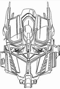 Faca Transformer Coloring Page | Coloring papers ...