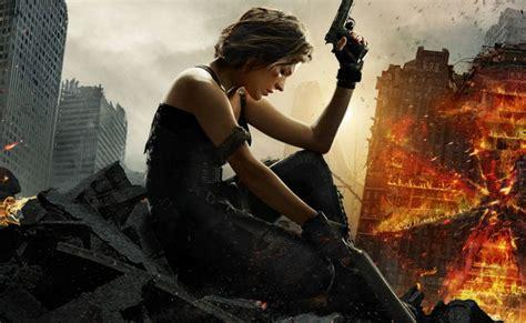 resident evil chapter final poster trailer banner cast movie stars