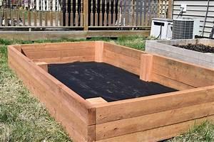 Raised Garden Bed - WoodLogger