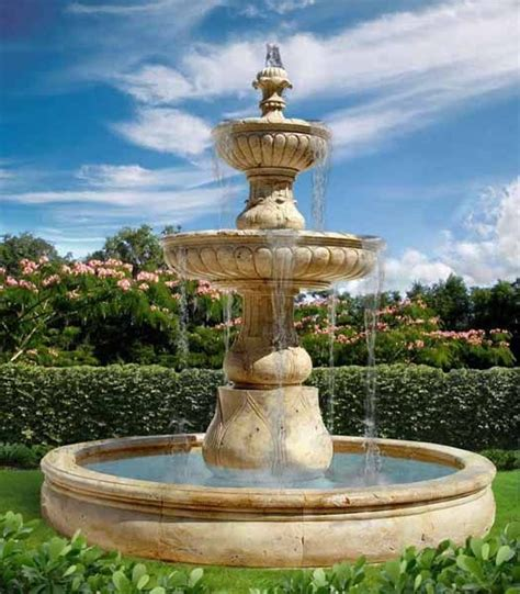 pictures of water fountains in gardens 1000 ideas about outdoor water fountains on pinterest