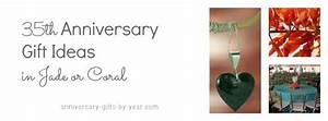 35th wedding anniversary gifts guide With 35th wedding anniversary gift ideas