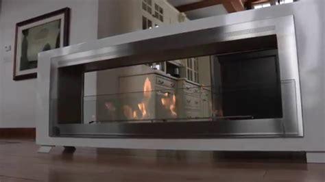 santa cruz  sided ethanol fireplace  eco feu youtube