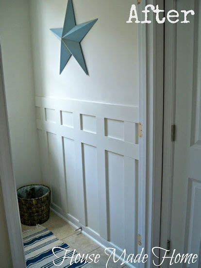 diy craftsman style wall molding  leftover  mdf