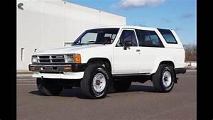 1988 Toyota 4runner 4wd 5-speed Manual White