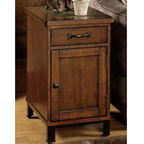 Table With Cabinet And Drawer by Null Furniture 3013 3013 22 End Table With Drawer And Door