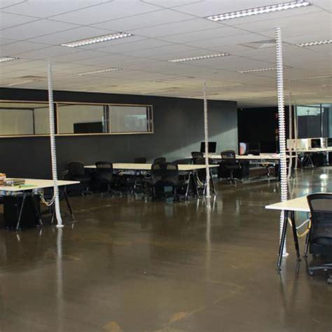 reception desk umbilical office services cable management system endo