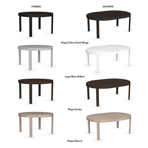 amenager sa cuisine table de repas ronde extensible atelier meubles et atmosphère