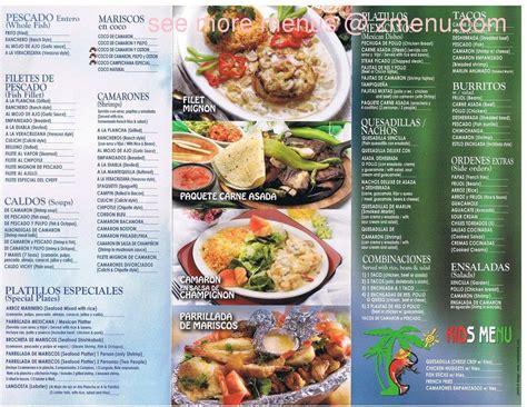 menu cuisine az menu of mariscos mi mazatlan restaurant tucson arizona 85711 zmenu
