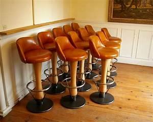 Tabouret De Bar En Cuir : tabourets de bar en cuir bois et m tal french bar stools ~ Dailycaller-alerts.com Idées de Décoration