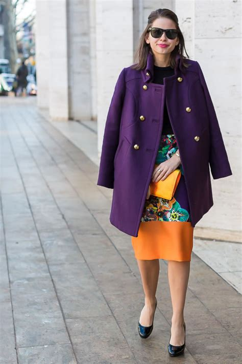 style inspiration wearing color  colorful outfits
