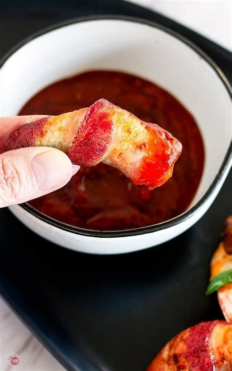 shrimp bacon wrapped fryer air airfryer spicy fried appetizers try