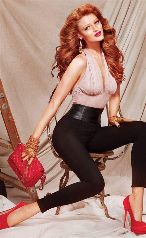Like A 50 S Pinup Redhead Cintia Dicker Bebe 2011