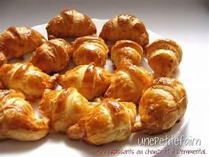 Mini Croissant Apéritif : mini croissants chorizo emmental une petite faim ~ Melissatoandfro.com Idées de Décoration