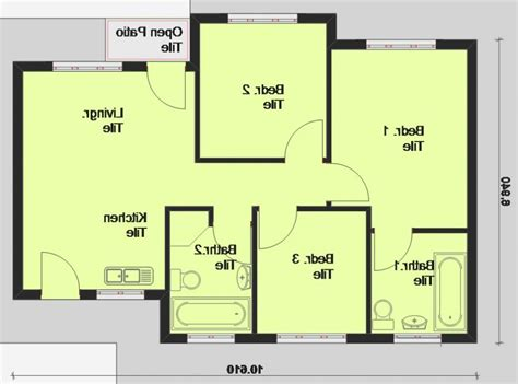 simple house plans    south africa