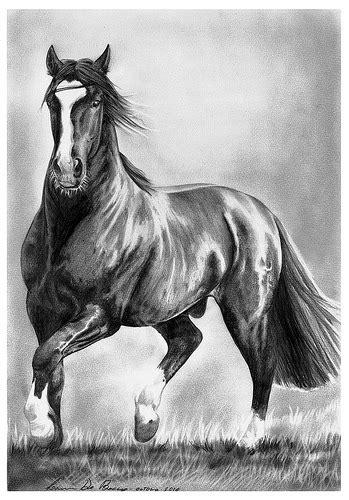 del este mutante horse  horse art