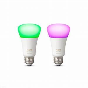 Philips Hue E27 : philips hue white and color e27 duo pack ~ Melissatoandfro.com Idées de Décoration