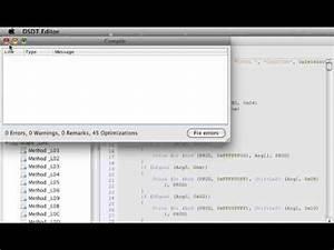 DSDT Editor sample usage - YouTube