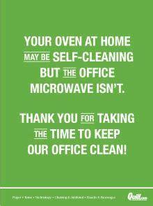 printable  breakroom clean signs  clean