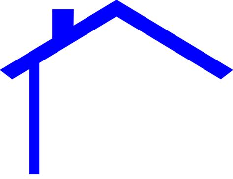 Pencil And In Color Rooftop Clipart Home Roof